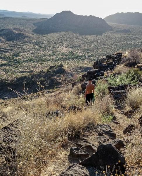Hiking Browns Mountain