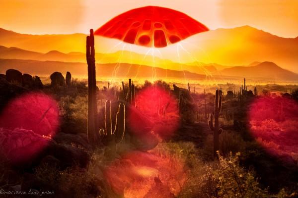 Aliens over the Sonoran Desert