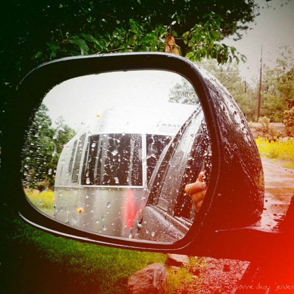Shot with my Smartphone as I was leaving the Campground. Raining of course!