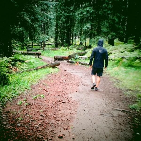 Hiking in the Rain on the Arizona Trail